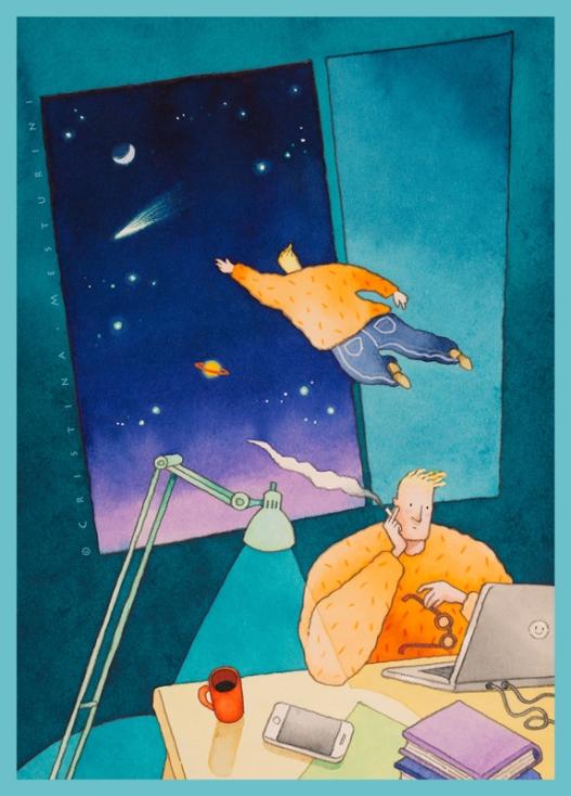 Navigazioni e nuove comete, for Achab