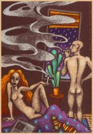 Interno con fumo, for Achab